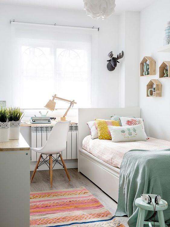 quarto pequeno decoração