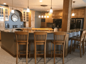 Okobiji Resort and Okoboji Vacation Rental Kitchen