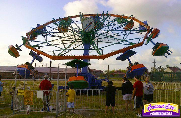 Crescent City Amusements Slidell La Our Midway