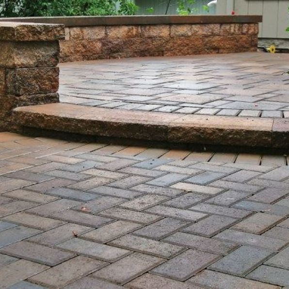 Crescent dc brick patios design and construction service for How much to build a house in northern virginia
