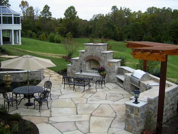 Stone Patios Design & Construction