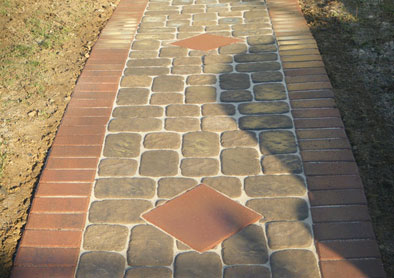 Custom Designed Walkway