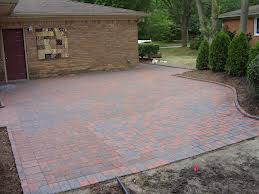Nice Brick Patio Work