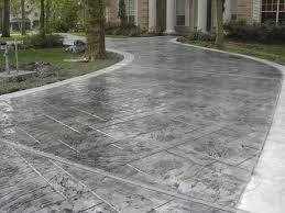 Beautiful Custom Concrete Driveway