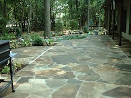 Beautiful Flagstone Patio and Walkway