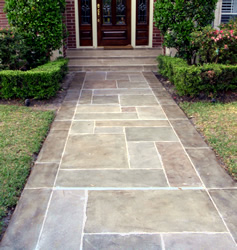 Beautiful Home Entrance Walkway