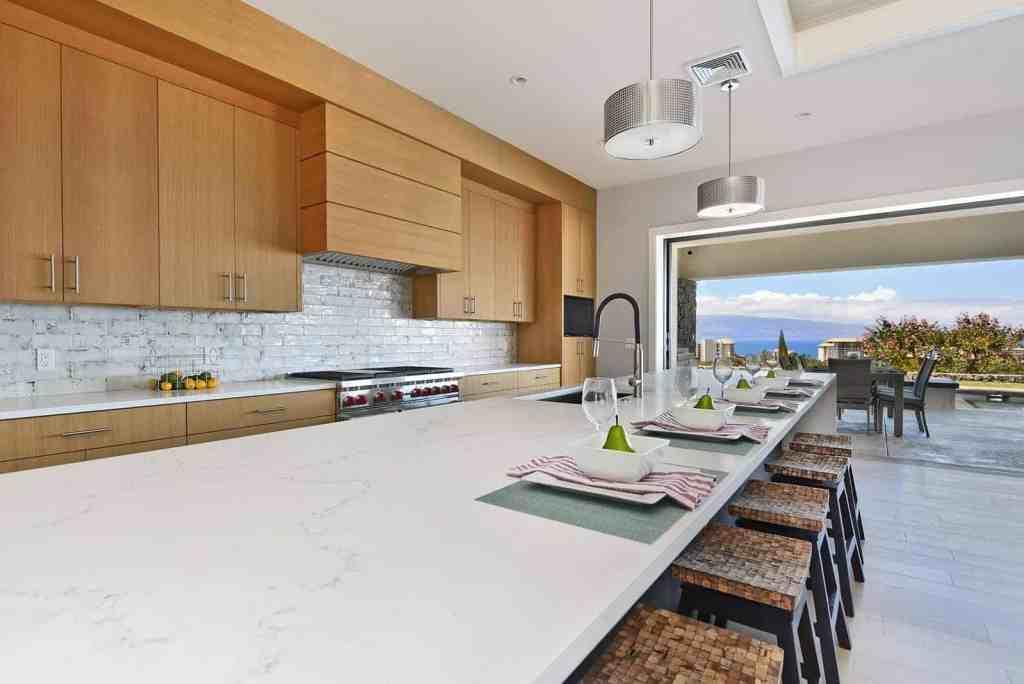Kitchen interior home