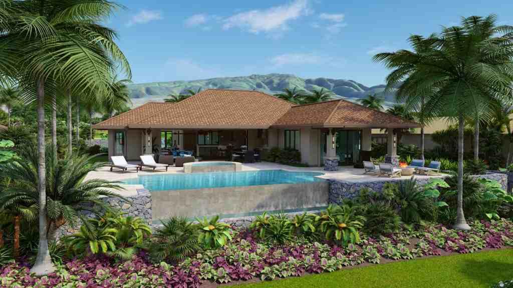 Lanikeha Lot 9 and infinity pool image