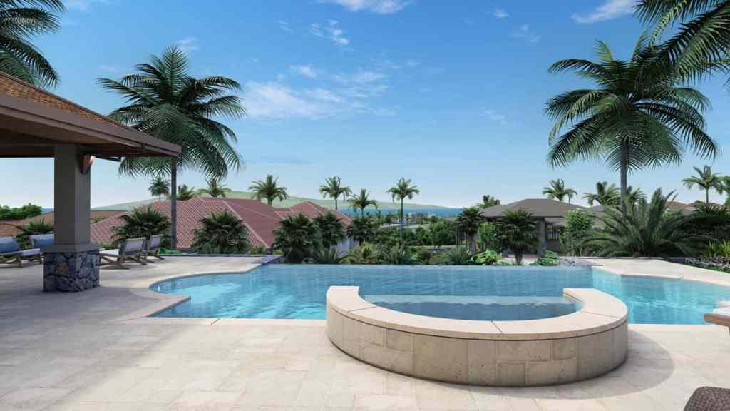 607 Anapuni Loop jacuzzi spa and infinity pool