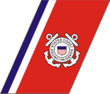 uscg racing stripe