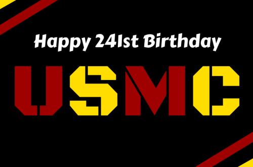 Happy 241st Birthday Marine!