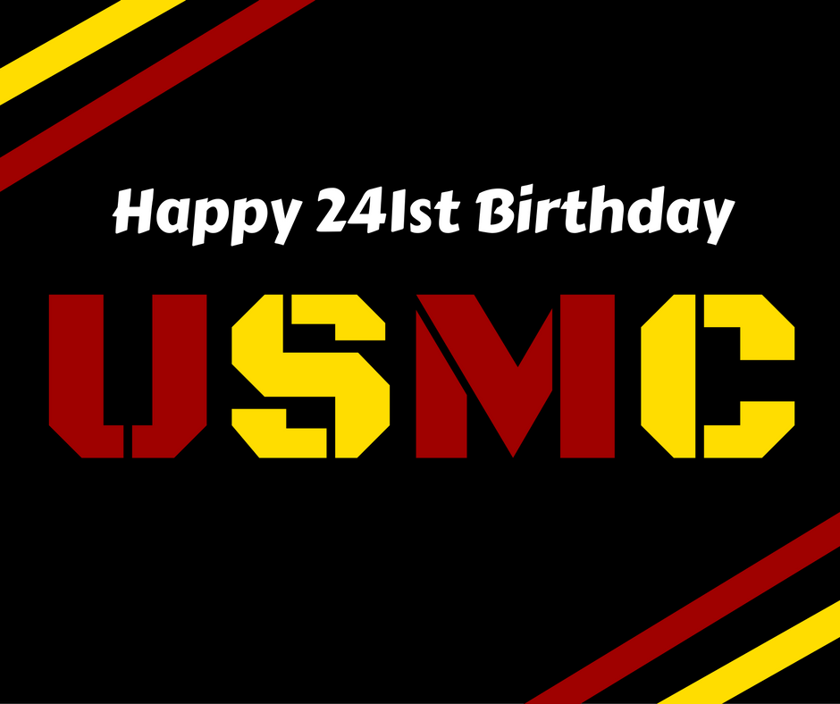 Happy 241st Birthday Marine!