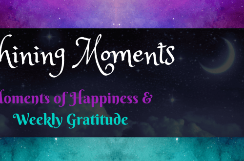 Shining Moments, Weekly Gratitude at Crescent Moon & Stsars
