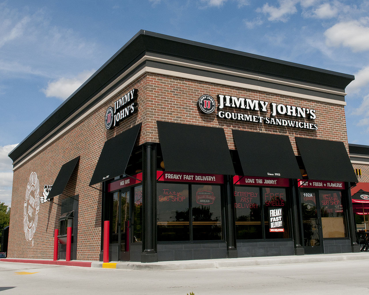 Jimmy Johns Offers 1 Subs in Store on Tuesday May 2 from