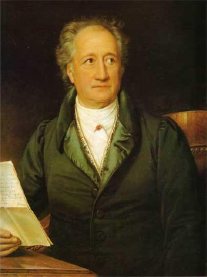 Goethe johann wolfgang