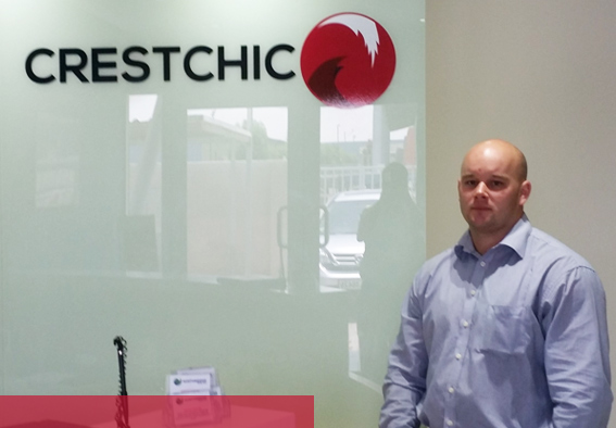 Damien Raspe, Technical Sales and Applications Manager, Crestchic ME