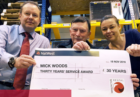 Mick Woods Scores 30 years with Crestchic