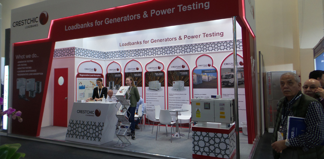Crestchic Loadbanks to showcase load testing solutions at Middle East Energy event