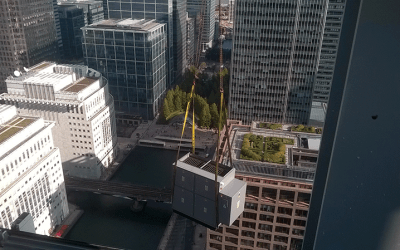 Crestchic Loadbanks reach new heights with 22 Bishopsgate project