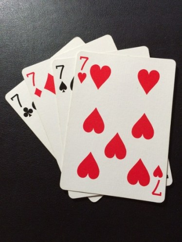 Playing cards - Crest Consulting Magic 7