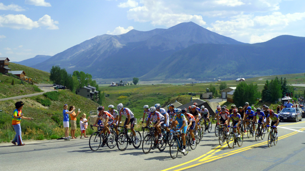 Riders in the USA Pro Cycling Challenge