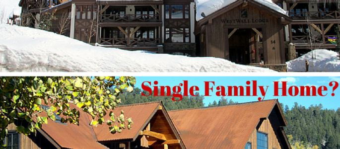 Crested Butte townhome, condo, or single family home?