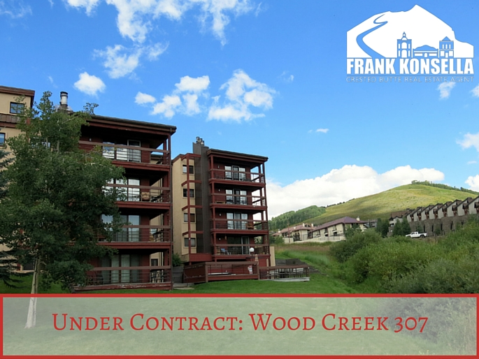 wood creek condos crested butte under contract