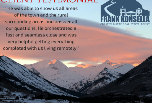 crested butte real estate agent recommendation