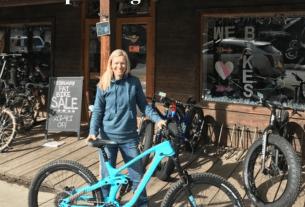 ali fuch's big al's bicycle heaven and Crested Butte fat biking