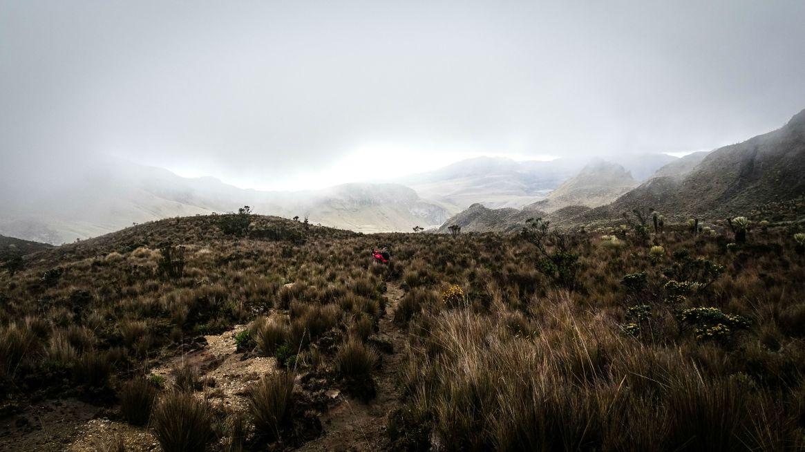 The great loop of los Nevados