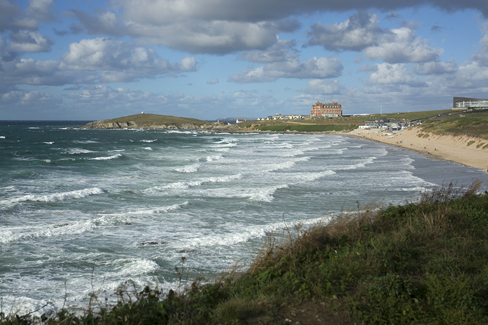 view of fistral