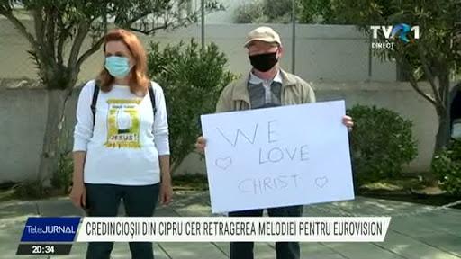 """Credincioșii și Sfântul Sinod din Cipru cer retragerea piesei """"El Diablo"""" din concursul Eurovision"""