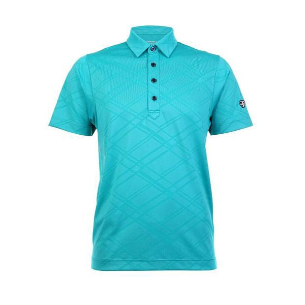 Mens Polo 80620 - Greenish Blue
