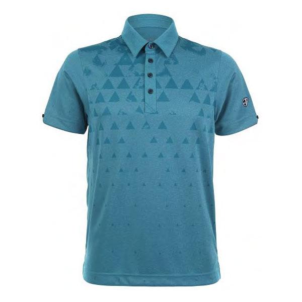Mens Polo 80380712 Aqua Blue