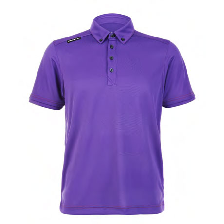 Mens Polo 80380717 Purple