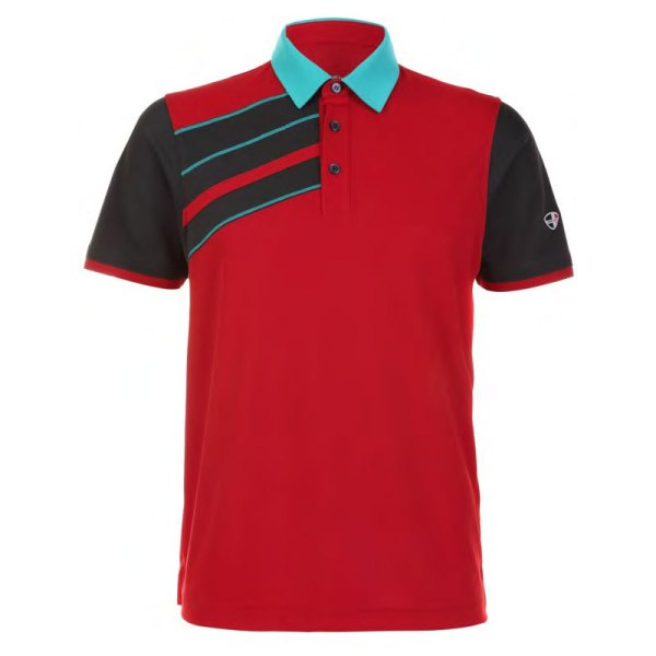 Mens Polo 80380771 Sport Red