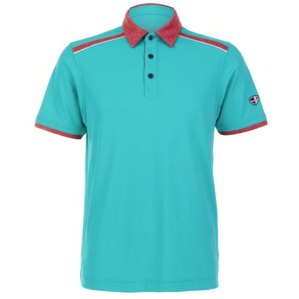 Mens Polo 80380775 Greenish Blue
