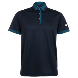 Mens Polo 80380935 Charcoal/Light Green