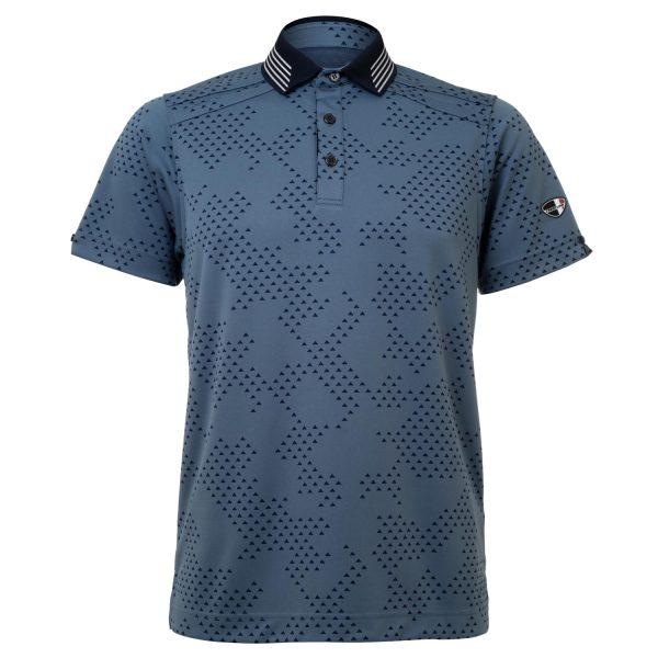 Mens Polo 80380945 - Stone Blue