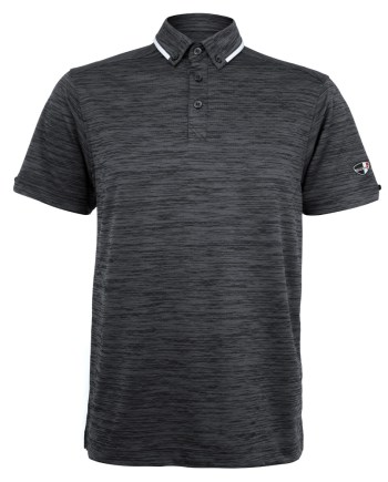 Mens Polo 80381001 in Stone Grey