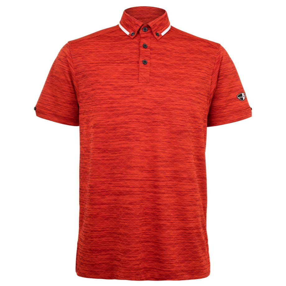 Mens Polo 80381001 in Vivid Red