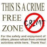 Crime Free Zone