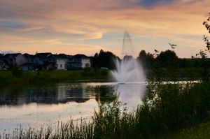 Crestmont Fountain by Aduro Photography