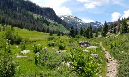 Hike into the South San Juan Wilderness