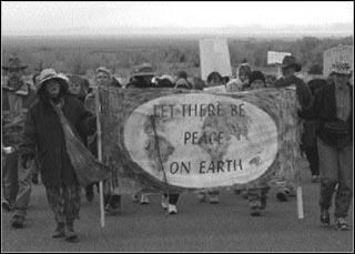 Peace Walk held in Crestone – November 2002
