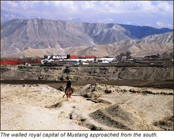 Mustang in Nepal—ancient trade route gives view into past (September 2008)