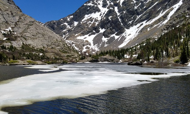 Hiking to South Crestone Lake