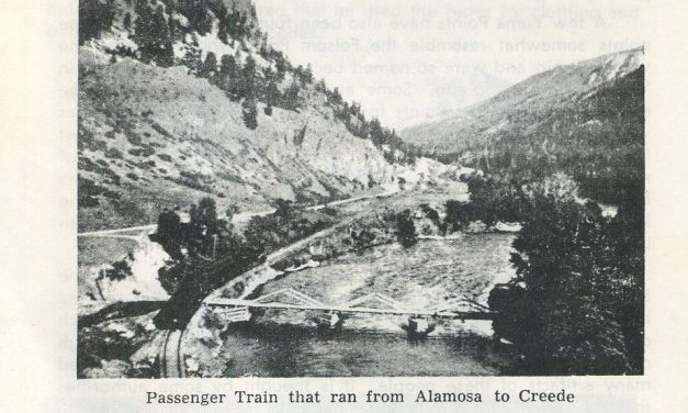 Mosca, Colorado:  Then & now