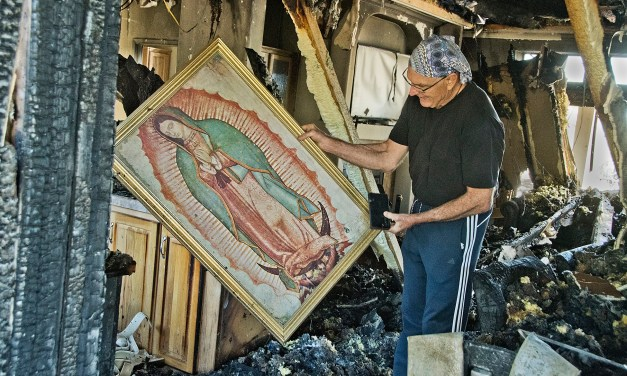 Multiple fire departments respond to Baca home fire Property mitigation prevented community wildfire