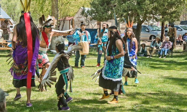 Eagle Dance presented at Dark Sky event